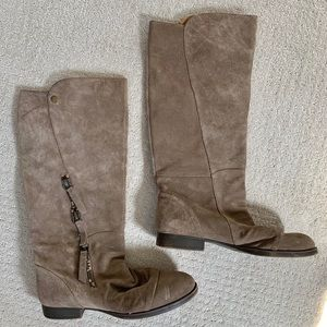 Nine West Suede Leather Boots